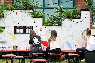 Estrella Damm at Sugar Mountain | Brand activation design, build and production Sugar Mountain Festival- Melbourne Arts Precinct  for Asahi Premium Beverages