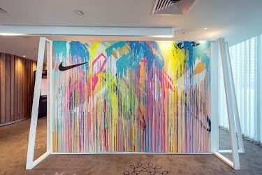 Nike Player Distribution Space | Creative concept, visual merchandising and production. Crown Metropol, Melbourne for Nike
