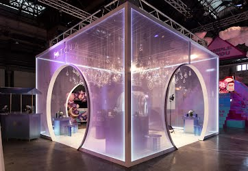 Tatcha at Meccaland 2019 | Cosmetics retail event activation. Technology Park, Sydney for Tatcha