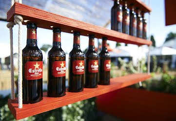 ESTRELLA DAMM AT TASTE | Creative concept, design, build and production. Taste of Sydney, Centennial Park & Taste of Melbourne Albert Park for Asahi Premium Beverages