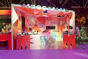 MECCALAND 2018 - BRAND BOOTHS | Brand activation stand design, build and installation Melbourne for Mecca
