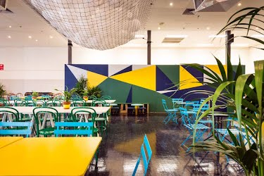 Royal Cafe | Creative concept, design, production and build. Royal Melbourne Showgrounds for Create Catering