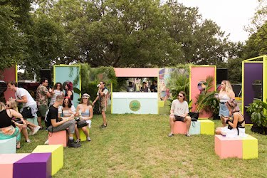 Somersby Secret Garden at Laneway Festival 2020 | Somersby Brand Activation for Laneway Festival The Domain, Sydney. Footscray Park, Melbourne for Asahi Premium Beverages