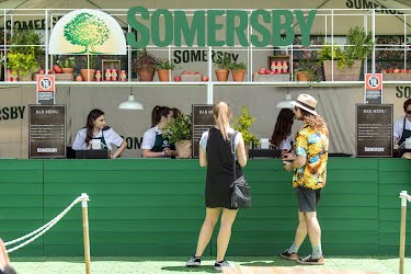 Somersby - Laneway Festival 2018 | Brand activation design, build and production Melbourne - Sydney - Brisbane - Adelaide - Perth for Asahi Premium Beverages