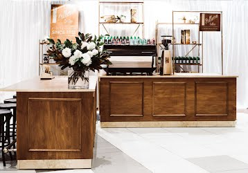 Vittoria Coffee Cart | Event set Design for Dot Dot Dash