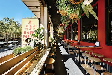 Happy Palace | Restaurant and bar interior design, furniture design and production. Bourke St, Melbourne for Happy Palace