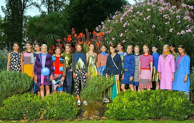 gorman - Moth and Moon | Fashion runway concept and production. Fitzroy Gardens, Melbourne for gorman
