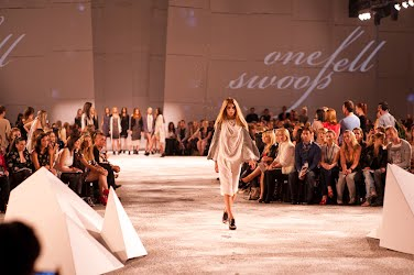 MELBOURNE FASHION FESTIVAL SETS | Runway set design and production. Melbourne, Victoria for LMFF
