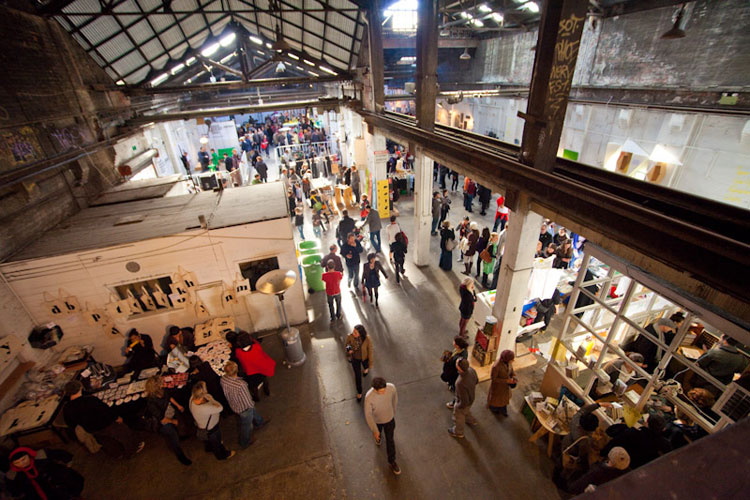 This is Not a Design Market | Concept and production. La Trobe St, Melbourne for BTTB
