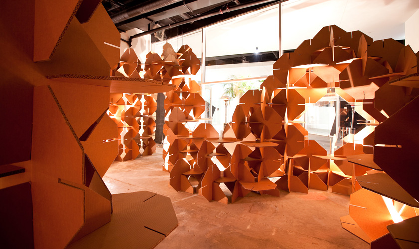 Convergence at Yarra Lane | Exhibition design, curating and production. Yarra Lane, South Yarra for State of Design