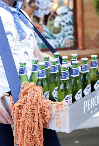 Peroni Brand Makeover Launch | Asset Design and Fabrication, Event Design and Project Management Smoke Rooftop Bar, Barangaroo House, Darling Harbour for Asahi Premium Beverages