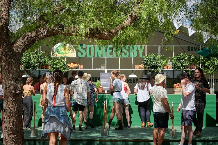 Somersby at Laneway Festival 2018 | Brand activation design, build and production Melbourne - Sydney - Brisbane - Adelaide - Perth for Asahi Premium Beverages
