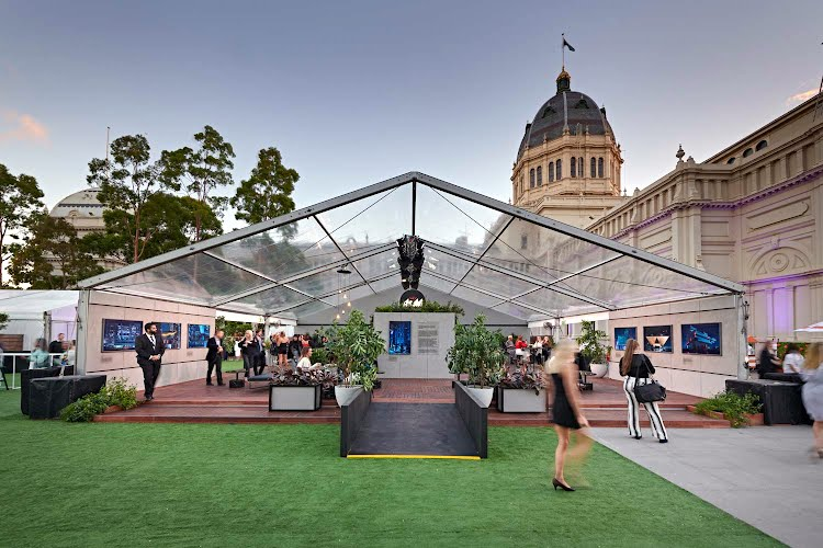 VAMFF 2018 ASAHI FESTIVAL BAR  | Brand activation design, build and production Royal Exhibition Building, Melbourne for Asahi Premium Beverages