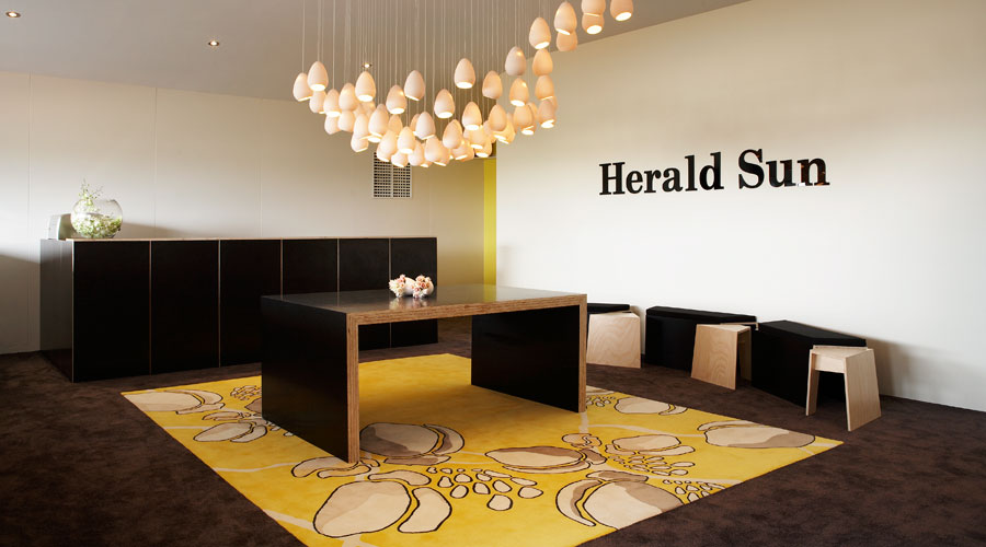 Herald Sun – Spring Carnival 2008 | Event and hospitality space design, production. Spring Carnival, Flemington for BTTB