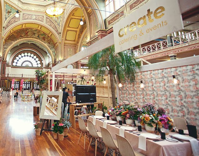 One Fine Day  - fair stand | Wedding design, production. Royal Exhibition Building, Melbourne for Create Catering