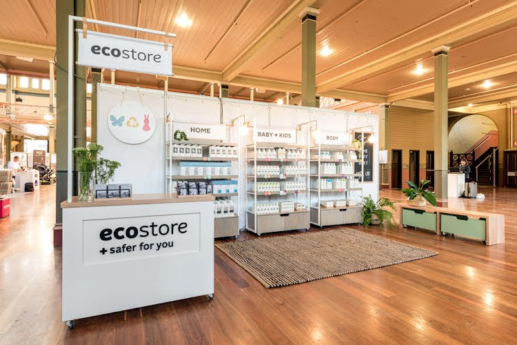 ecostore stand | Design and build Australia-wide trade shows for Ecostore