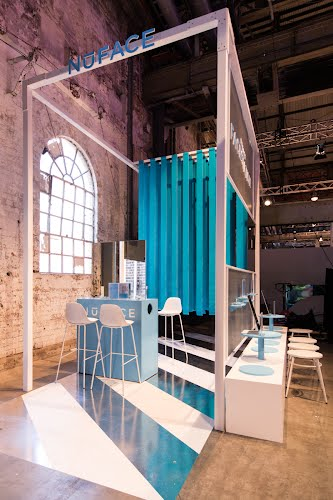 Meccaland 2019 - Various Stands | Exhibition and event design Technology Park, Sydney for Mecca Cosmetica