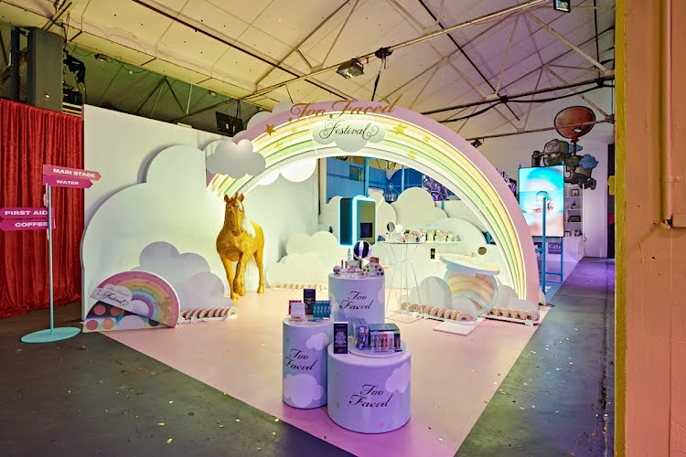 MECCALAND FESTIVAL 2018 - BRAND BOOTHS | Brand activation stand design, build and installation Melbourne for Mecca