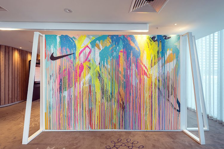Nike Player Distribution | Creative concept, visual merchandising and production. Crown Metropol, Melbourne for Nike