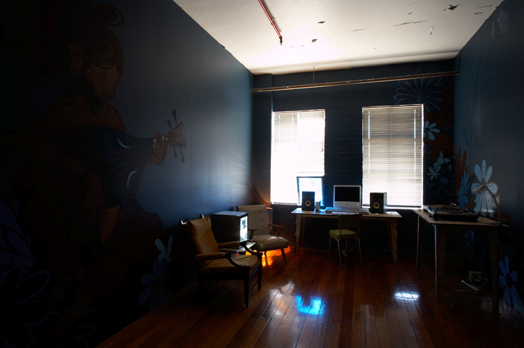 Red Bull Music Academy   Creative concept, interior design and production. Richmond, Victoria for Red Bull