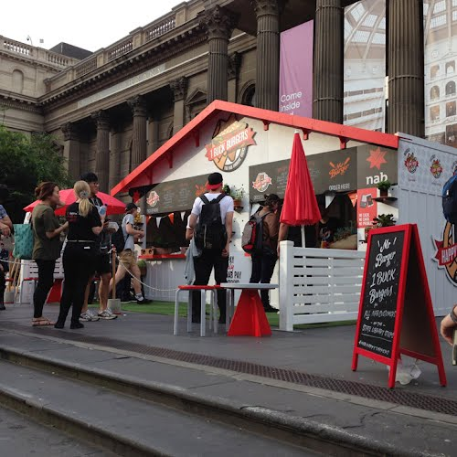 NAB HAPPY TAPPERS | Brand activation, design, build and production. State Library, Melbourne.  Australia Square, Sydney for Taboo