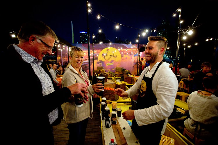 Schweppes Night Noodle Market | Creative concept, brand activation, project management and production. Southbank, Brisbane; Hyde Park, Sydney; Birrarung Marr, Melbourne for Taboo