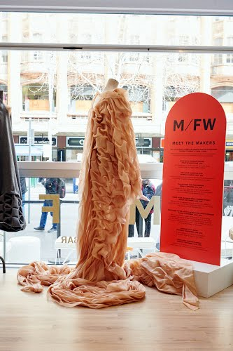 MFW19 – The Fashion Capsules Exhibition   Exhibition design, Fabrication, Installation and Project Management City of Melbourne Visitors Hub, Collins Place, Collins Square, Goldsborough Lane (Bourke Street), the Melbourne Town Hall forecourt and Southern Cross Station for City Of Melbourne