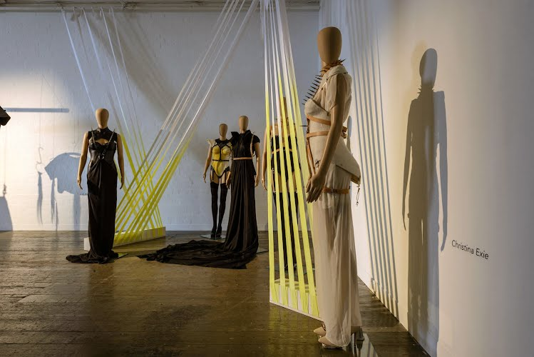 PARALLEL TENSIONS – New Designer Exhibition | Exhibition design and production. Melbourne, Victoria for Melbourne Spring Fashion Week