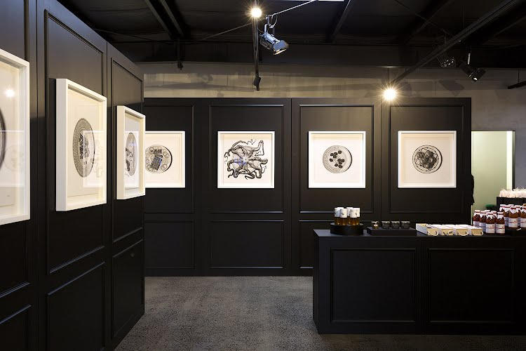 CJ Hendry  | Exhibition production. Gertrude St, Fitzroy for The Cool Hunter