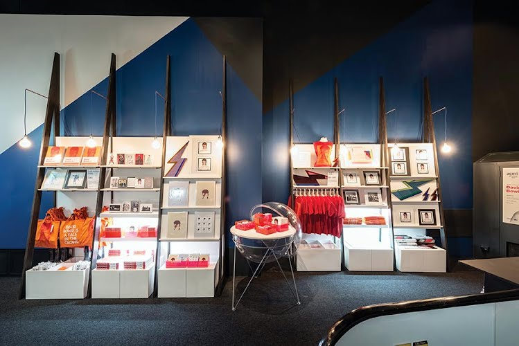 David Bowie Pop Up Shop | Retail interior design, build and fitout. ACMI, Melbourne for ACMI