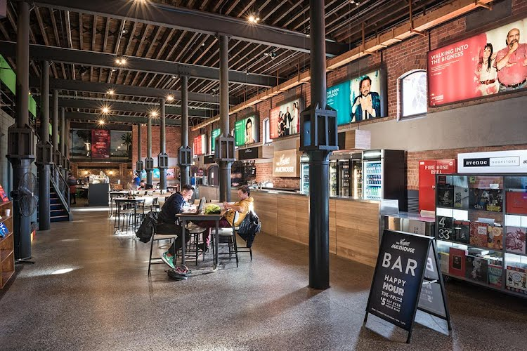 The Coopers Malthouse - Foyer | Foyer and bar design and build The Malthouse, Southbank, Melbourne for Dot Dot Dash