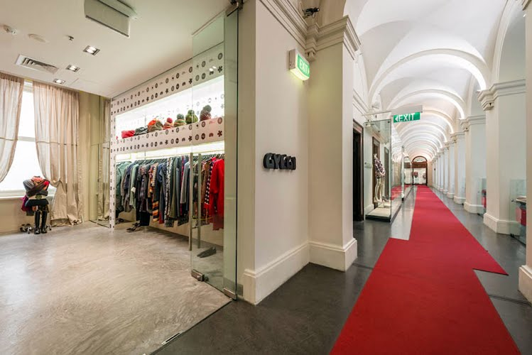 GPO Store | Retail interior design and project management. GPO, Melbourne for Gyegi