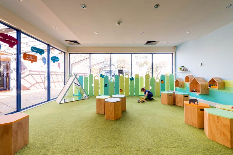 Queen Elizabeth Centre | Interior design, project management and fit-out. Noble Park, Victoria for QEC