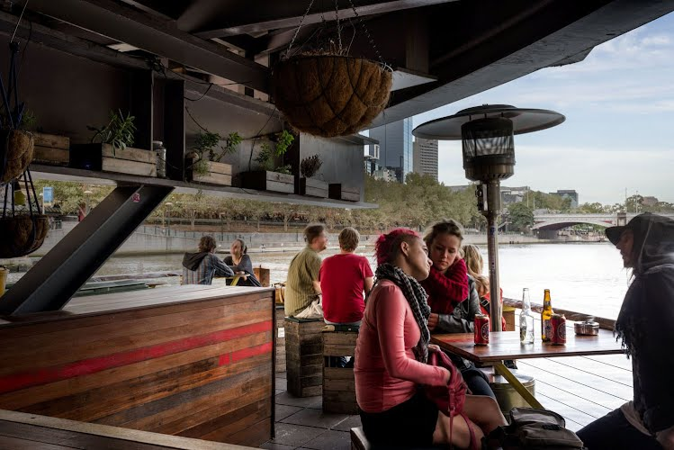 Ponyfish Island | Restaurant and bar design and fit-out. Yarra River, Melbourne for Rancho Notorious